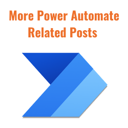 Image link to all Power Automate content