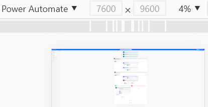 Image of Google Chrome showing an entire Power Automate Flow in one screen ready for a screenshot