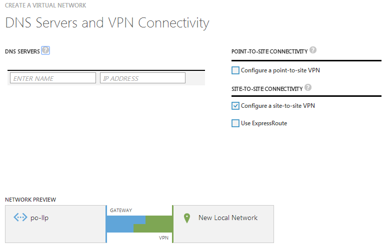 Create site-to-site connectivity between Azure and a Draytek Router