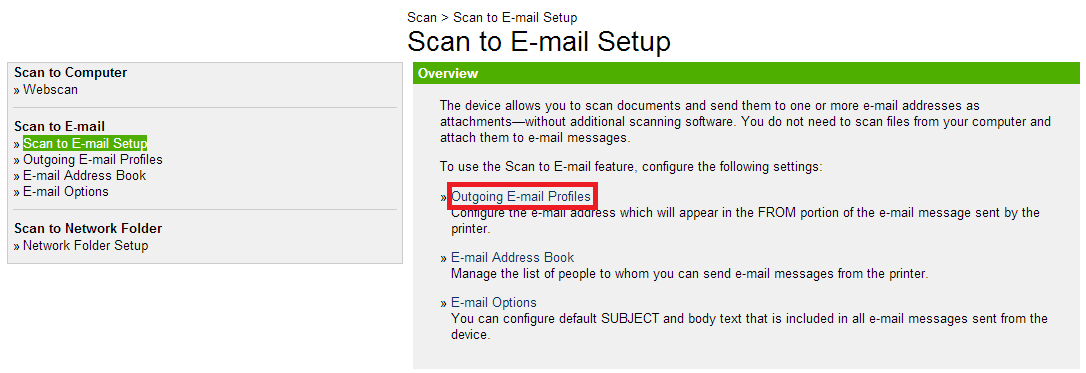 How to set scan to email on an hp officejet 8600 with office 365 - Email settings for office 365 ...