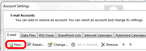 Image showing new account creation to enable sending from an alias in Office 365