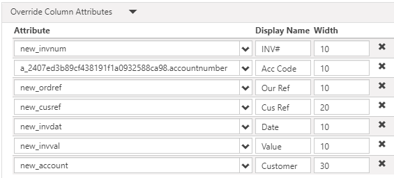 Image showing how to change the display names of Entity Lists in a PowerApps Portal