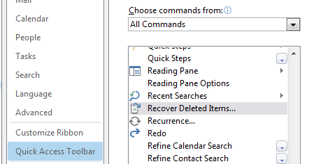 how to delete folders in outlook 365