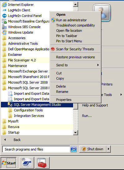 High Memory usage in SBS 2011 caused by SQL Server Databases