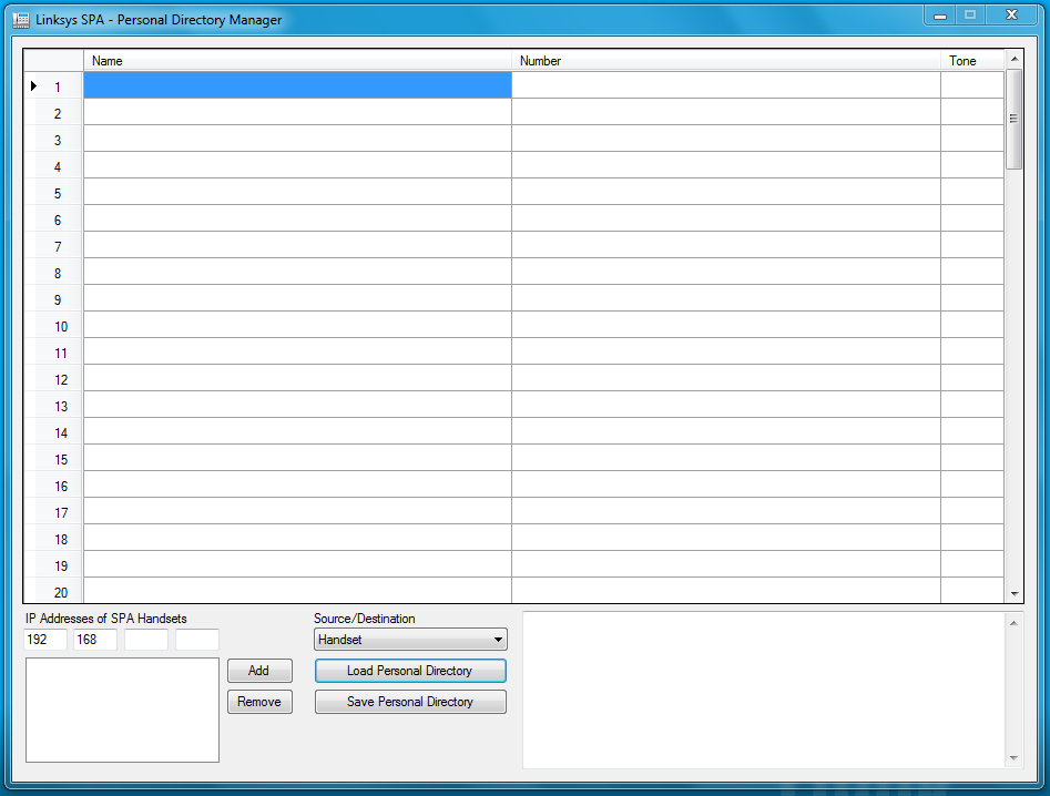 updated linksys spa personal directory manager