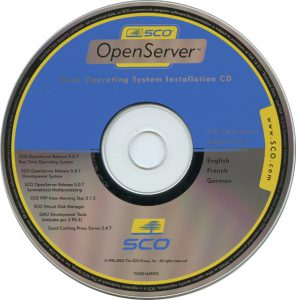sco openserver 5.0.4
