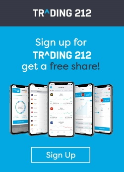Sign up to Trading 212