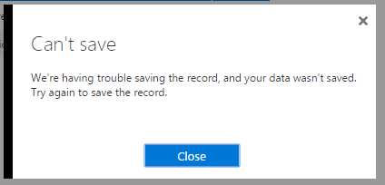 Unable to save custom SPF record on Office 365